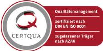 CERTQUA DIN EN ISO 9001 Logo