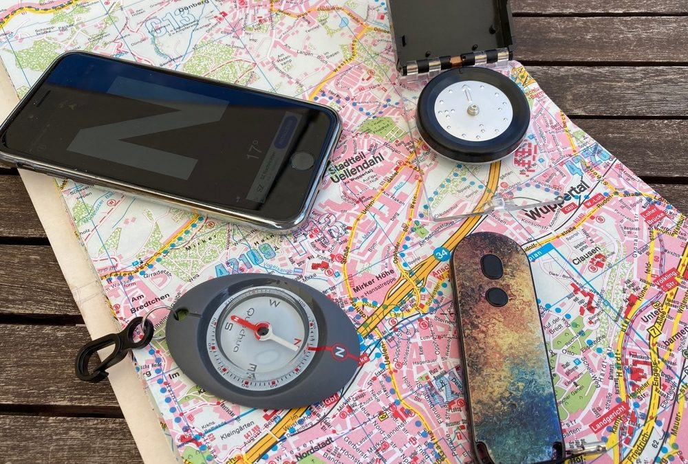 Navigation mit dem Kompass